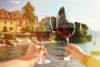 Comida y vino italiano